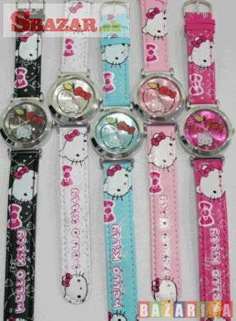 Hello Kitty hodinky nový dizajn