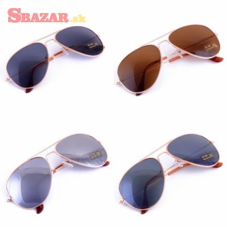 Slnečné okuliare - pilotky aviator