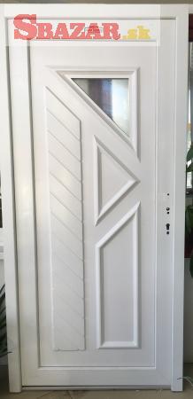 Na predaj nové plastové vchodové dvere DUSSELDO
