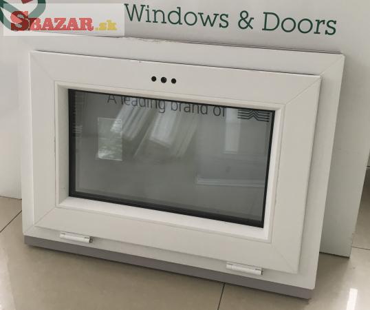 Predám nové plastové okno 800x600 biele