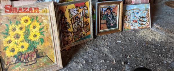 Prodám obrazy