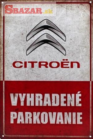 Vyhradené parkovanie - CITROEN