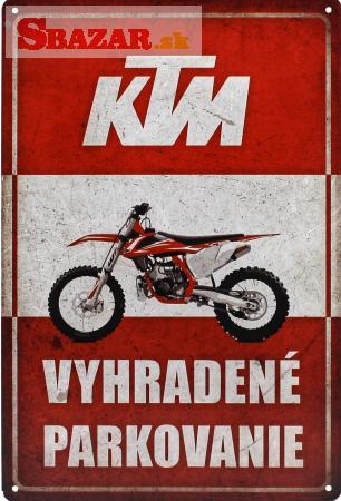 Vyhradené parkovanie - KTM