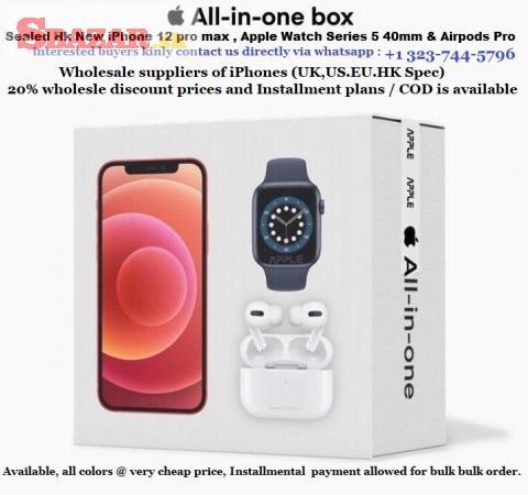 3 v 1 NOVÝ SEALOVANÝ Apple Iphone 12 Pro Max, IW