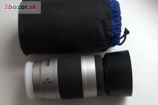 Minolta AF 75-300 F4.5-5.6 pro sony/minoltu