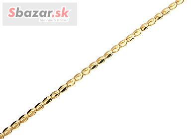 257812313 Zlatý náramok pre dámy - PROFIBAZAR.sk