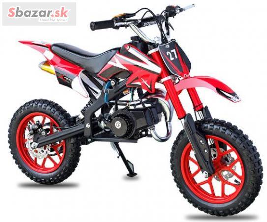 Minibike minicross 50 ccm, detska motorka