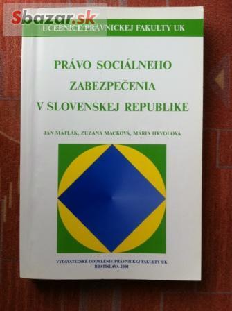 Právo sociálneho zabezpečenia v slovenskej repu