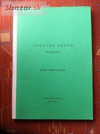 Správne právo - Proceská časť, Marian Vrabko