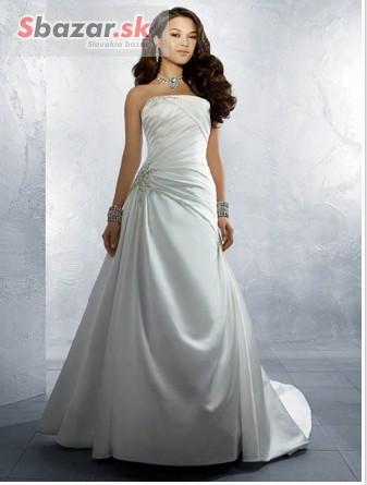 29e8e9b5570b Predám jednoduché ale krásne svadobné šaty - PROFIBAZAR.sk