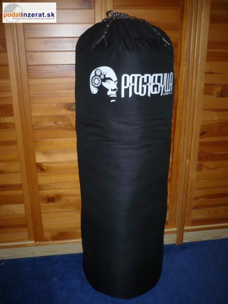 Kvalitné prázdne boxovacie vrece 150x45cm+reťaz