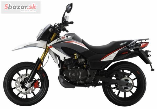 Predám motorku Keeway TX 125 SM