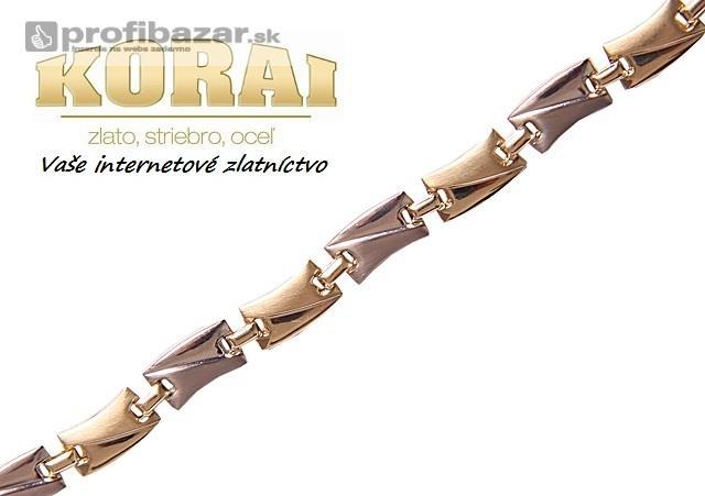 ae5d5cf70 Výrazný zlatý náramok – NOVINKA - PROFIBAZAR.sk