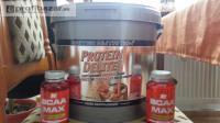 Predám 3,75 kg SCITEC Proteinu a 150 ks aminokys.