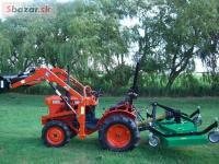 Traktor Kubota BI-OOI  + príslušenstvo