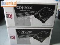 Nexus balíček - 2 x CDJ 2000 + DJM 900 Nexus Nex