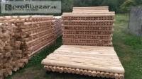 VÝPREDAJ - drevená guľatina - stĺpy.