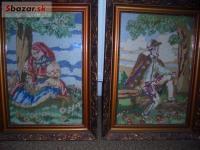 Predám vyšívané obrazy