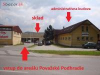 Pov. Podhradie - skladové priestory na prenájom