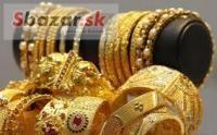 Hodnota predaja zlata Šperky, STRIEBORNÁ