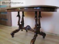 Starožitný oválny stôl