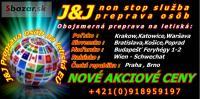 Preprava na letisko Krakow,Katowice, Poprad,Bratis