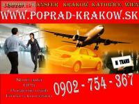Poprad - Krakow sk / doprava na letisko od 25e