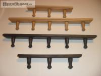 KÚPELŇA: 3/5 dielne TRENDY drevené VEŠIAKY - r 206486