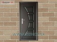 Plastové a oceľové vchodové dvere
