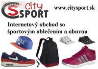 City Sport internetový obchod so športovým oble
