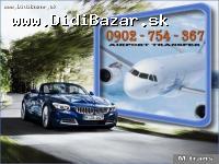 Airport transfer / Taxi na letiska Krakow, Katowic
