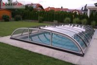 luxusní zastrešenie bazénu