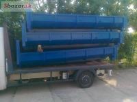 výroba všech typů hákových kontejnerů
