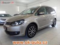 Volkswagen Touran 1.6 TDI Comfortline navi 7 míst