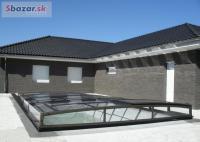 nové moderní zastrešenie na bazén