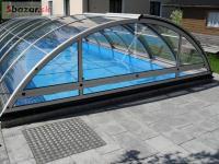 obloukové zastrešenie bazéna