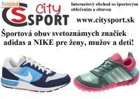 Športová obuv pre ženy, mužov a deti v CitySpo
