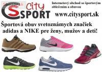 Športová obuv v online obchode CitySport