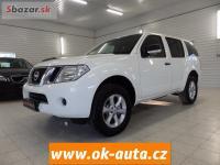 Nissan Pathfinder 2.5 dCi 140kW 7 MÍST ZÁRUKA KM