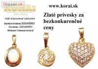 Zlaté prívesky KORAI
