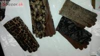 Kožené rukavice dámske a pánske