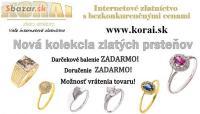 Zlaté prstene KORAI, nová kolekcia