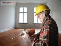 Rekonštrukcie bytov, domov, dvere a podlahy.