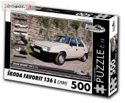 Puzzle ŠKODA FAVORIT 136 L (1989)