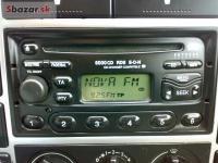 Ford Galaxy Rádio 6000 RDS na CD.