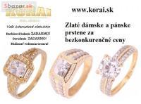 Prstene zlaté KORAI