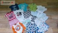 Balík oblečenia pre chlapca 6-9m (väčšinu sme