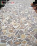 Andezit dúhový - prírodný kameň na obklad / d 231232