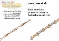 Náramky zlaté KORAI