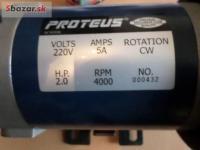 Motor na běžecký pás MTM 6500 Top stav